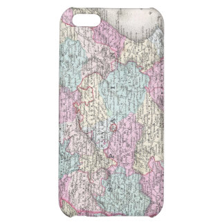 Vintage Map of Spain (1855) Cover For iPhone 5C