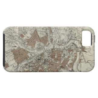 Vintage Map of St Petersburg (1893) Case For The iPhone 5