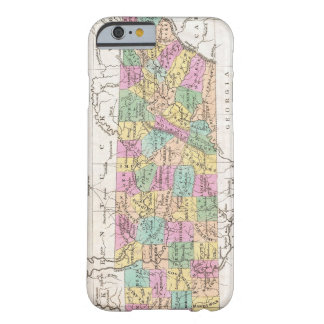 Vintage Map of Tennessee (1827) Barely There iPhone 6 Case
