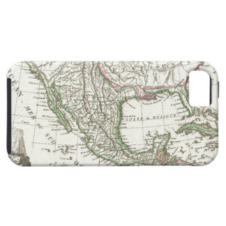 Vintage Map of Texas and Mexico Territories (1810) Tough iPhone 5 Case