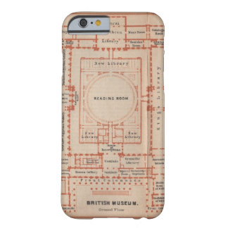 Vintage Map of the British Museum Barely There iPhone 6 Case