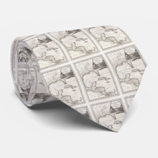 Vintage Map of The Gulf of Mexico (1798) Tie