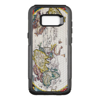Vintage Map of the Known World Circa 1700 OtterBox Commuter Samsung Galaxy S8+ Case