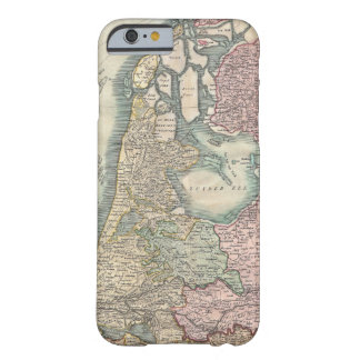 Vintage Map of The Netherlands (1799) Barely There iPhone 6 Case
