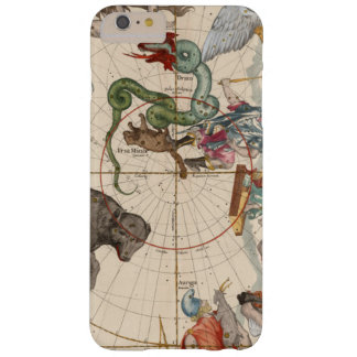 Vintage Map of the North Pole Barely There iPhone 6 Plus Case