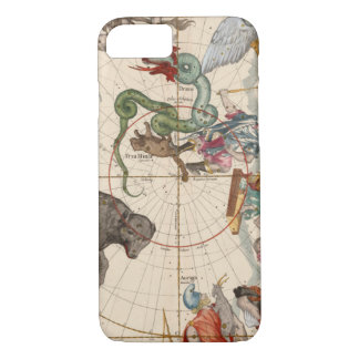 Vintage Map of the North Pole iPhone 8/7 Case