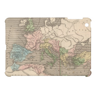 Vintage Map of The Roman Empire 1838 iPad Mini Cover