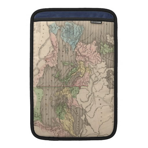Vintage Map of The Roman Empire (1838) Sleeve For MacBook Air