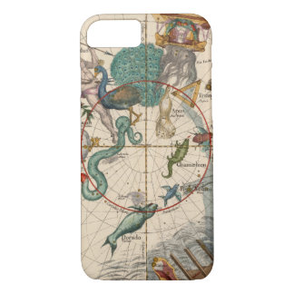 Vintage Map of the South Pole iPhone 8/7 Case