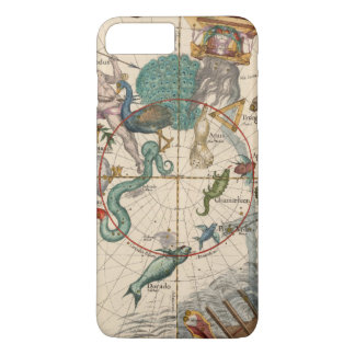 Vintage Map of the South Pole iPhone 8 Plus/7 Plus Case