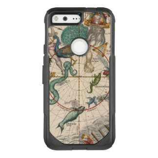Vintage Map of the South Pole OtterBox Commuter Google Pixel Case