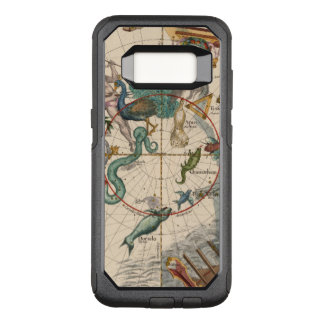 Vintage Map of the South Pole OtterBox Commuter Samsung Galaxy S8 Case