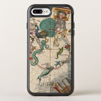 Vintage Map of the South Pole OtterBox Symmetry iPhone 8 Plus/7 Plus Case