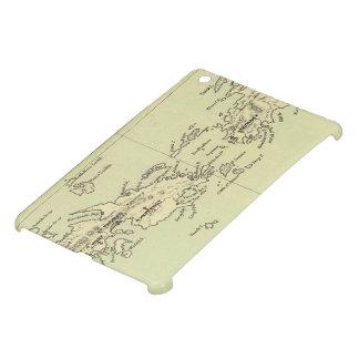 Vintage Map of The Virgin Islands (1853) iPad Mini Covers