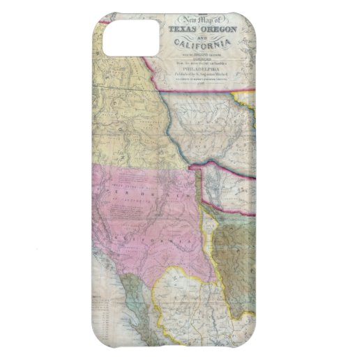 Vintage Map of The Western United States (1846) Case For iPhone 5C