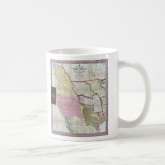 Vintage Map of The Western United States (1846) Mugs
