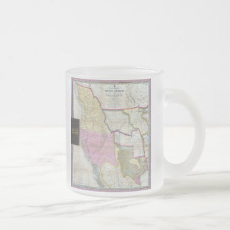 Vintage Map of The Western United States (1846) Coffee Mug