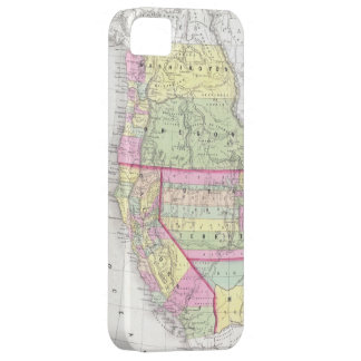 Vintage Map of The Western United States (1853) Barely There iPhone 5 Case