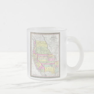 Vintage Map of The Western United States (1853) Mugs