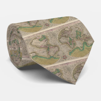 Vintage Map of The World (1607) 2 Tie