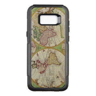 Vintage Map of the World Circa 1742 OtterBox Commuter Samsung Galaxy S8+ Case