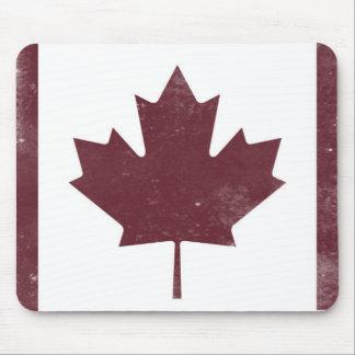 Vintage Maple Leaf Mouse Pad
