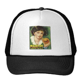 Vintage Mari-Pi Crate Label Trucker Hat