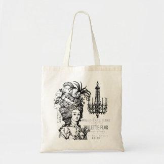 Vintage Marie Antoinette tote bag