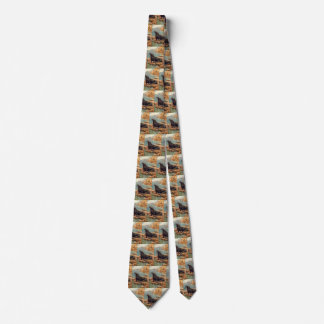Vintage Marine Mammals, Sea Lion by the Seashore Tie
