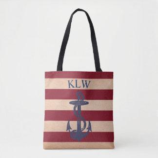 Vintage Maritime Americana Tote Bag