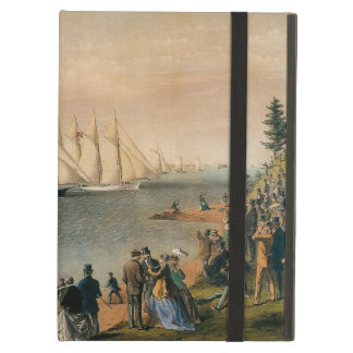 Vintage Maritime, New York Yacht Club Regatta Case For iPad Air