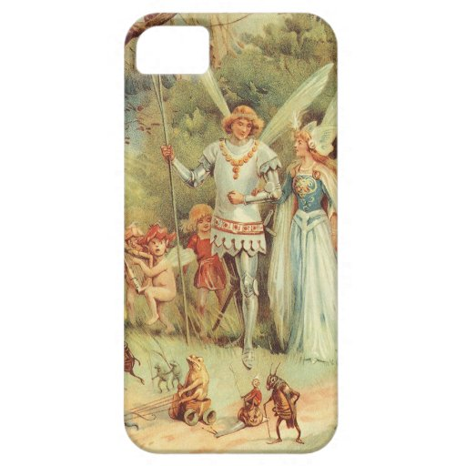 Vintage Marriage of Thumbelina and Prince iPhone 5 Case