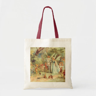 Vintage Marriage of Thumbelina and Prince Bag
