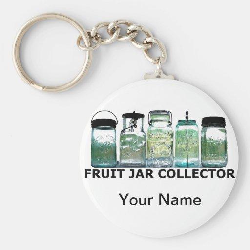 Vintage Mason Jar Fruit Jars Collector Keychain
