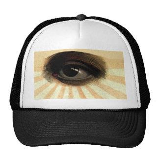 Vintage Masonic Supreme Being All Seeing Eye Cap