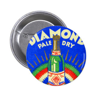 Vintage Matchbook Diamond Pale Dry Ginger Ale Pin