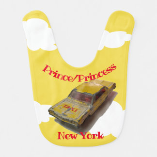 Vintage MatchBox Yellow Cab flying Bib