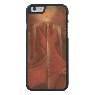 Vintage Medical Illustration Neck Carved® Maple iPhone 6 Slim Case