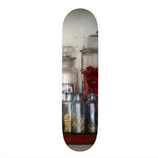Vintage Medicine Bottles Skateboard