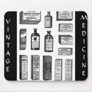 VINTAGE, MEDICINE MOUSE PAD