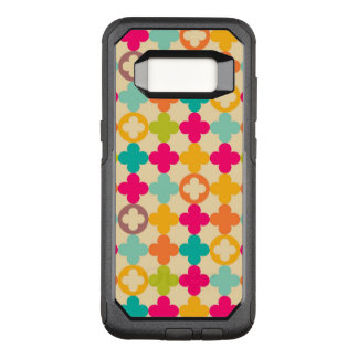 Vintage medieval rosette pattern OtterBox commuter samsung galaxy s8 case