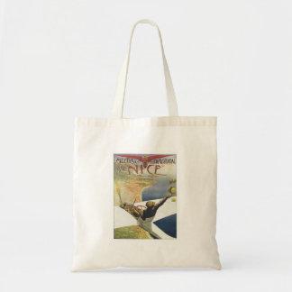 Vintage Meeting D'aviation Nice Tote Bag