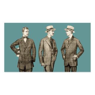 Vintage Men Pack Of Standard Business Cards