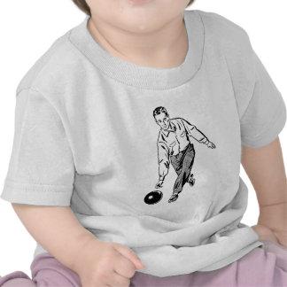 Vintage Men's Bowling Tshirt
