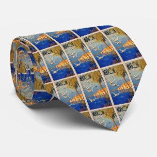 Vintage Menton CoTe D'azur Tie