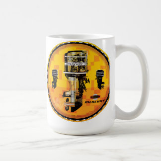 Vintage Mercury Outboard motors sign Coffee Mug