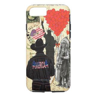 Vintage Merica iPhone 7 Case
