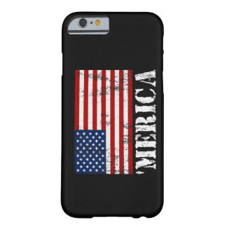 Vintage 'MERICA US Flag iPhone 6 case Barely There iPhone 6 Case