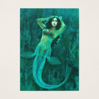 Vintage Mermaid ACEO Business Card
