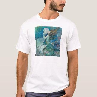 Vintage Mermaid Holding Pearl Tshirt